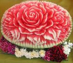 water melon carving MY FAVORITE